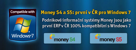 Certifikace Money pro Windows 7